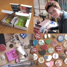 Lots of polymer clay tutorials.
