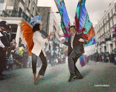 MOVE MOVIE - AGATA BEDNARSKA nottinghill carnival #collage #digitalcollage #artpsycho