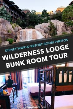 Disney's Wilderness Lodge Room Photos // Disney's Wilderness Lodge has bunk bed rooms with incredible Pacific Northwest theming and comfort that our family loves. Let's take a Wilderness Lodge room tour, shall we? // PIN THIS and TAP TO VIEW #wildernesslodge #disneyresorts #wildernesslodgephotos