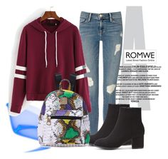 """ROMWE 4"" by aida-1999 ❤ liked on Polyvore featuring Frame Denim"