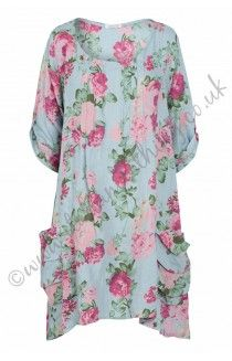 Made in Italy new arrivals. Made in Italy, tops, tunics, dresses & linen twin sets. Free UK delivery on all Made in Italy Italian Clothing. Italian Clothing, Italian Outfits, Italy News, Linen Dresses, Vintage Roses, 21st Century, How To Make, How To Wear, Tunic Tops