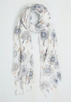 A Girl Can Dream Scarf From The Plus Size Fashion Community At www.VintageAndCurvy.com