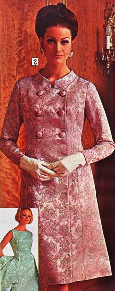 https://flic.kr/p/jq9hYR | Sears 67 fw floral satin coat