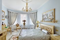 Blue and gold room decor blue and gold bedroom decor 6 blue and gold Blue And Gold Bedroom, Silver Bedroom, Royal Bedroom, White Bedroom, Luxury Bedroom Design, Master Bedroom Design, Bedroom Designs, Master Suite, Bedroom Themes