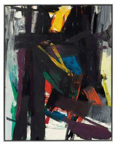 Franz Kline | King Oliver / oil on canvas/1958