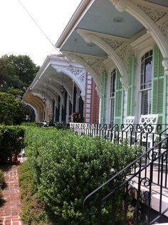 Garden District New Orleans #Architecture  #blogtournola walking tour , Corbels