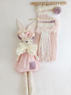Little Peach Bunny doll