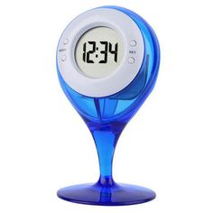 Eco-friendly Water Powered Clock Led Clock - Blue - China Cool Gadgets