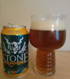 Stone Ripper is a 5.7 ABV 40 IBU APA and uses Cascade & Australian Galaxy hops. The appearance is darkish orange/red and the nose light pine hop. The flavor is a nice balance of sweet caramel malt and bitter pine and herbal hop. Mouthfeel is light and crisp and drinkable. With Ripper Stone shows that a low level ABV/IBU sessionable ale can still have a lot of character and depth of flavor. I may not need to seek it out again but it's solidly good.