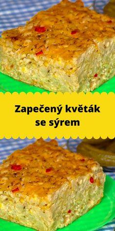 Czech Recipes, Banana Bread, Food And Drink, Cooking Recipes, Vegetables, Cooking, Chef Recipes, Vegetable Recipes