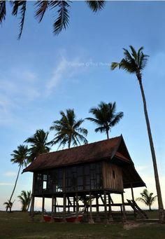 Traditional Malay House, Terengganu, Malaysia