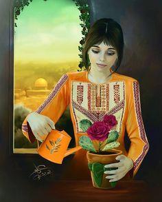 ابداع الفنان عماد ابو شتية