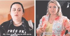 Rae and her mum. My Mad Fat Diary Season 3 Episode 3