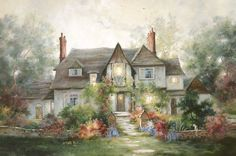 Langley House -  by Marty Bell