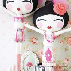 Little Lisa Smile dolls handmade in the south of France
