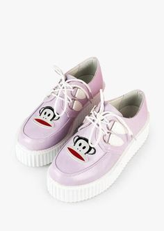 cfa0798d65c3 Leather Lilac Creepers Hipster Outfits