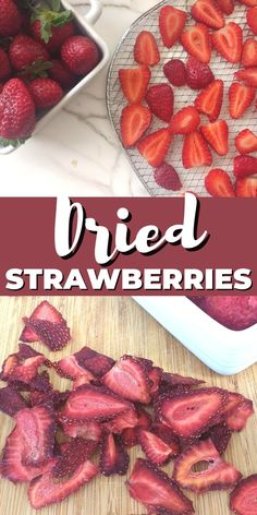 At their peak of ripeness, fresh strawberries are quite possibly the perfect fruit. Trouble is, their peak is short-lived. Dehydrated strawberries capture the sweet and wonderful flavor so you can enjoy them for months (and months). Make these dried strawberries in a dehydrator, an air fryer, or the oven. #AttainableSustainable #dehydrating #DriedStrawberries #FoodPreservation Homemade Yogurt, Homemade Baby Foods, Oven Dried Strawberries, Excalibur Dehydrator, Baby Food Recipes, Cooking Recipes, Food Fantasy, Dehydrated Food, Dehydrator Recipes
