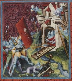 Les grandes Chroniques de France . Date d'édition : 1390-1405 Type : manuscrit Langue : Français Latin
