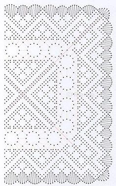 Patroon van de maand 2016 · juli - Kant met naald (en) de klos! Bobbin Lace Patterns, Weaving Patterns, Bobbin Lacemaking, Lace Heart, Lace Jewelry, Lace Making, Loom Weaving, Make Design, String Art