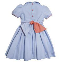 Girls handsmocked dress - online boutique shop for casual and formalwear