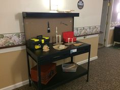 "The ""workstation"" I designed in my care community"