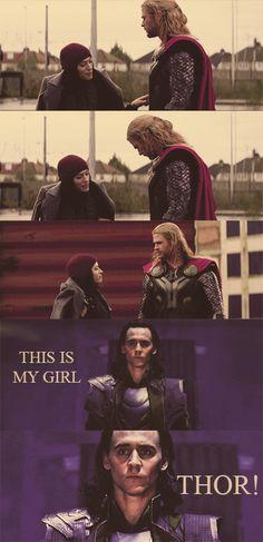 Hands off my girl, Thor!!! #TaserTricks