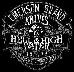 EMERSON KNIVES LOGOS 5 Knife Logo, Emerson Knives, J Birds, Survival Knife, Juventus Logo, Logo Design, Logos, Hunting Knives, Bullets