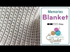 How to Crochet A Baby Blanket: Timeless Memories - YouTube