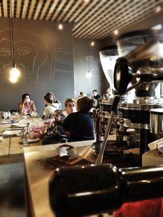 Delicious coffee in cultural playground Westerpark @ 'Espressofabriek' | #Amsterdam