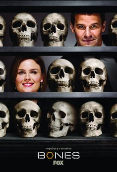 BONES: A forensic anthropologist and a cocky FBI agent build a team to investigate death causes. And quite often, there isn't more to examine than rotten flesh or mere bones. GREAT COMEDY CRIME SERIES!!!