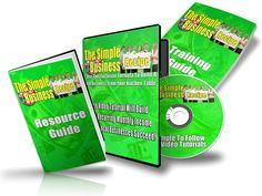 The Simple Business Recipe - eBook and Videos (PLR)