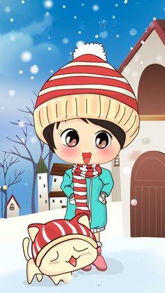 Valentine Cartoon, Jingle Bells, Cartoon Wallpaper, Fairy Tales, Girly, Wallpapers, Iphone, Cute, Fictional Characters
