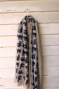 Oh Simple Thoughts: Stitch Fix # 2 (winner winner).love the elephant scarf! Fix Clothing, Safari, Cute Scarfs, Stitch Fix Stylist, Elephant Print, Cute Pattern, Winner Winner, Spring Summer Fashion, Dress To Impress