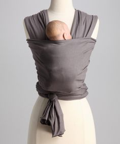 Solly Baby Charcoal Organic Wrap Carrier. looks comfortable!