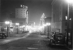 Downtown Portland, Oregon 1935.