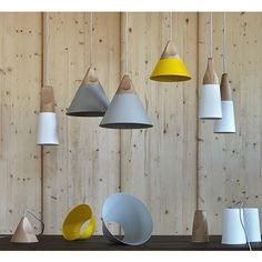 Slope High Suspension Lamps Miniforms by Miniforms