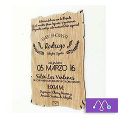 Alguna invitación en Madera? #lasercut #design #woodwork hola@makeit.mx #letsmakeit by makeitmx