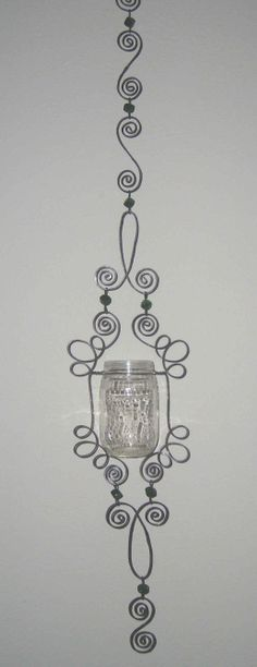DIY #1 Hanging Candle Holder instructions available for $6