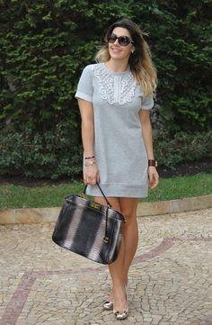 No Look: Vestido de moletom!   Keep a Secret                                                                                                                                                                                 Mais