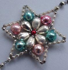 vintage mercury glass ornament                                                                                                                                                                                 More