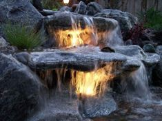 Small Waterfall Pond Landscaping For Backyard Decor Ideas 42
