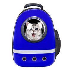 Zuoao Cat Dog Bubble Carrier Bag Astronaut Pet Backpack Airline Approved for Travel Hiking (Blue) -- For more information, visit image link. (This is an affiliate link and I receive a commission for the sales) #MyDog