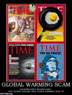 politics GLOBAL WARMING SCAM