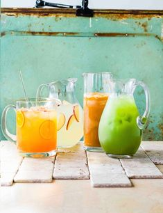 Get summer-ready with these fab boozy batches, from mezcal and kombucha cooler to spicy margaritas, raspberry frosé to Jamaican rum punch Dark Rum Cocktails, Rum Cocktail Recipes, Drinks Alcohol Recipes, Classic Cocktails, Cocktail Drinks, Drink Recipes, Easy Summer Cocktails, Fun Cocktails, Fun Drinks