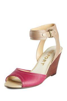 Report Jaden wedge sandal