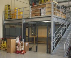 UNARCOSteel Mezzanines and Work Platforms for Warehouse Storage Facilities