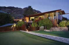 Mid-Century Modern Masterpiece In Clearwater Hills. More info at Walt Danley Realty.