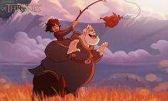 Se Game Of Thrones fosse feito pela Disney (11 fotos) >> https://www.tediado.com.br/03/se-game-of-thrones-fosse-feito-pela-disney-11-fotos/