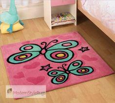Kiddy Play Erfly Pink Rug Little Bedrooms Rooms S Bedroom