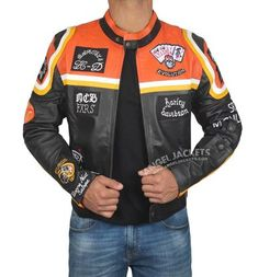 Shop Online for The Marlboro Man Harley Davidson Jacket worn by Mickey Rourke. The Most Running Motorcycle Marlboro Leather Jacket for Mens in Stock Now! Harley Davidson Store, Harley Davidson Merchandise, Harley Davidson Touring, Motorcycle Jacket, Motorcycle Style, Motorcycle Garage, Harley Davidson Leather Jackets, Marlboro Man, Harley Softail